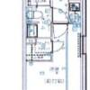 在江東區內租賃1K 公寓大廈 的房產 房間格局