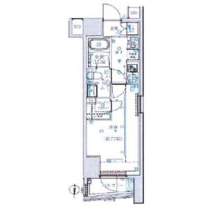 江東區大島-1K公寓大廈 房間格局