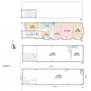 Whole Building {building type} in Minamishinagawa - Shinagawa-ku Floorplan