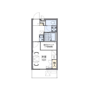 1K Mansion in Nishi - Kunitachi-shi Floorplan