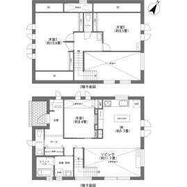 3LDK {building type} in Nagakura - Kitasaku-gun Karuizawa-machi Floorplan