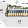 1K Apartment to Rent in Kita-ku Map