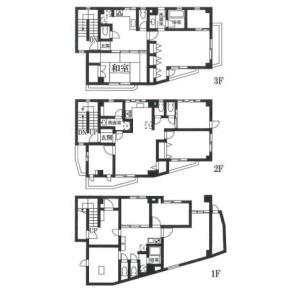 台東區西浅草-(整棟)樓房{building type} 房間格局
