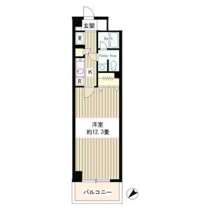 1R Mansion in Komagome - Toshima-ku Floorplan
