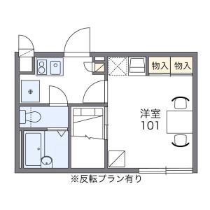 1K Apartment in Toshima - Kita-ku Floorplan