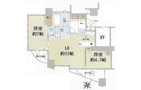 港区 白金 2LDK アパート