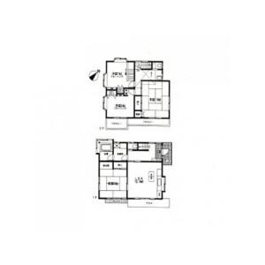 4LDK House in Uragocho - Yokosuka-shi Floorplan