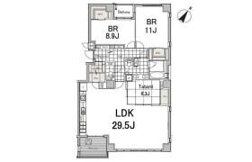 涩谷区恵比寿西-3LDK公寓