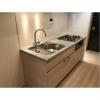 1LDK Apartment to Rent in Yokohama-shi Nishi-ku Kitchen