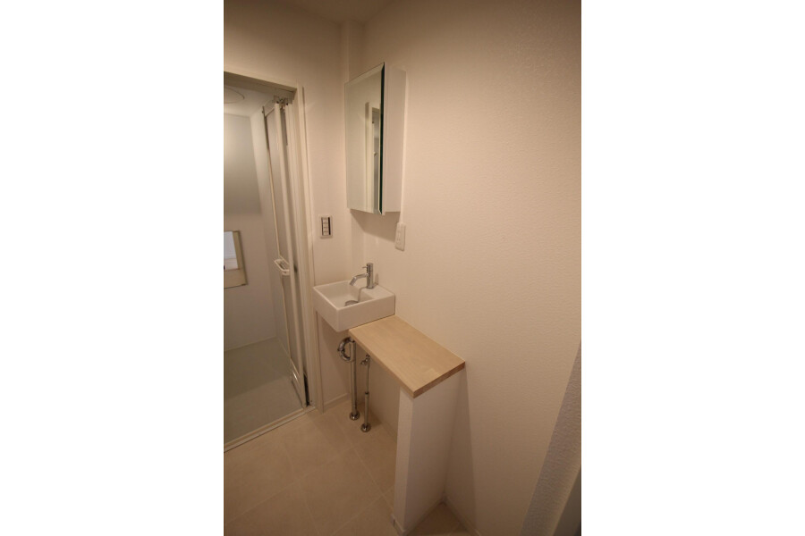 1K Apartment to Rent in Kawasaki-shi Tama-ku Washroom