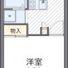 1K Apartment to Rent in Kadoma-shi Floorplan