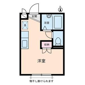 1R Apartment in Amanuma - Suginami-ku Floorplan