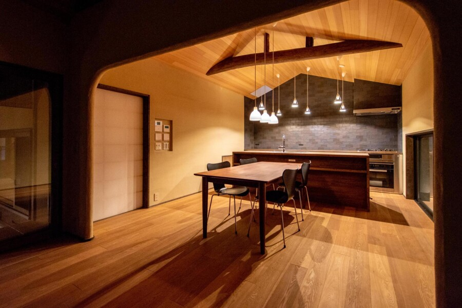 2LDK Terrace house to Buy in Kyoto-shi Higashiyama-ku Living Room