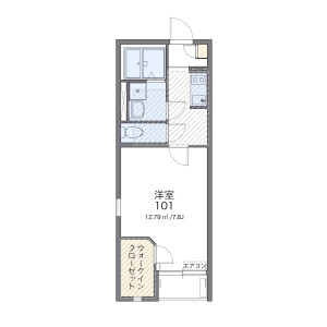 1K Apartment in Shinoharadaimachi - Yokohama-shi Kohoku-ku Floorplan