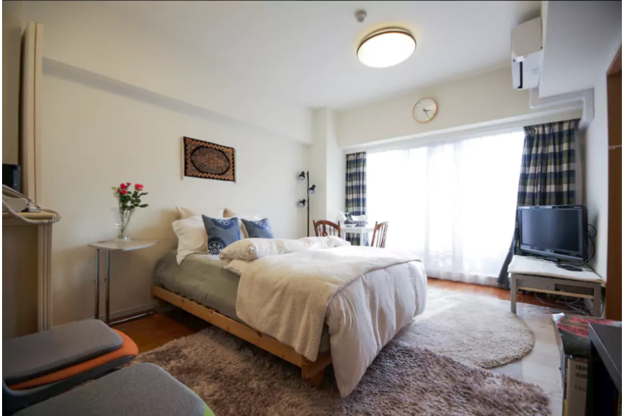 2LDK Apartment to Rent in Shinjuku-ku Bedroom