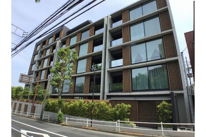 2LDK マンション 新宿区 外観