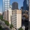 1K Apartment to Rent in Shinjuku-ku Balcony / Veranda