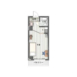 1R Mansion in Minamisengencho - Yokohama-shi Nishi-ku Floorplan