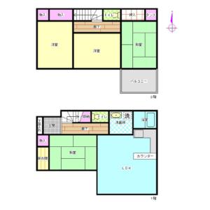 Whole Building {building type} in Otsuki - Hiki-gun Tokigawa-machi Floorplan