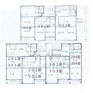 Whole Building {building type} in Furuishiba - Koto-ku Floorplan
