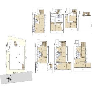 Whole Building {building type} in Kego - Fukuoka-shi Chuo-ku Floorplan