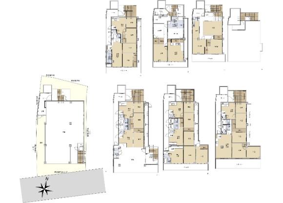 Whole Building Retail to Buy in Fukuoka-shi Chuo-ku Floorplan