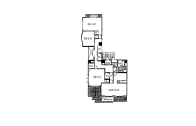 3LDK Apartment in Oyodominami - Osaka-shi Kita-ku