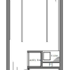 1R Apartment to Buy in Shinjuku-ku Floorplan