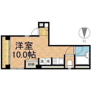 1K Mansion in Honjo - Sumida-ku Floorplan