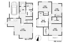 4LDK House in Aobadai - Kashiwa-shi