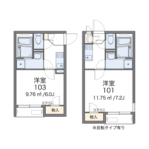 1K Apartment in Shioiricho - Yokosuka-shi Floorplan