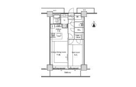 1LDK Apartment in Minatomirai - Yokohama-shi Nishi-ku