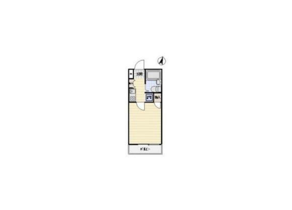 1R Apartment to Buy in Saitama-shi Kita-ku Floorplan