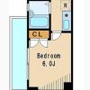 在杉並区内租赁1K 公寓大厦 的 楼层布局