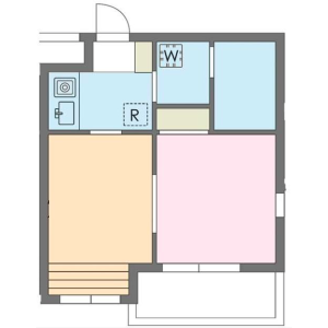 2K Mansion in Hiroo - Shibuya-ku Floorplan