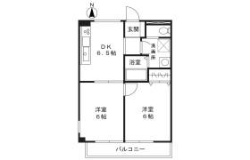 2DK Mansion in Hisamoto - Kawasaki-shi Takatsu-ku