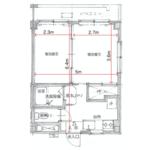 1LDK Mansion in Kinugawaonsenohara - Nikko-shi Floorplan