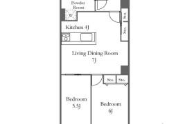 2DK Apartment in Roppongi - Minato-ku