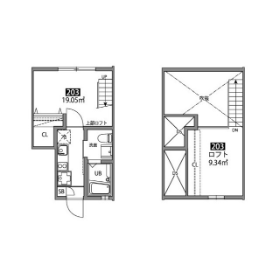 1K Mansion in Minamikarasuyama - Setagaya-ku Floorplan