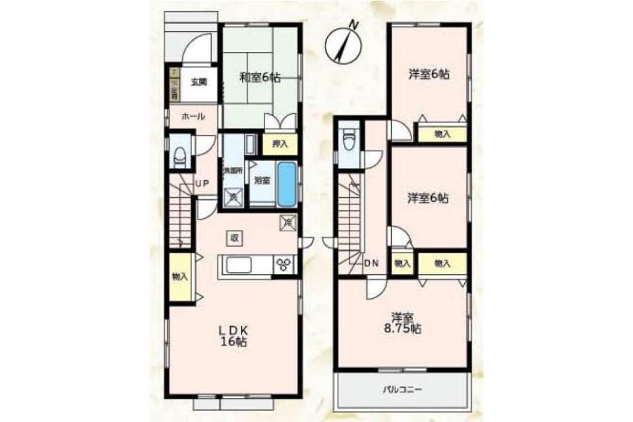 4LDK House to Buy in Nagoya-shi Midori-ku Floorplan