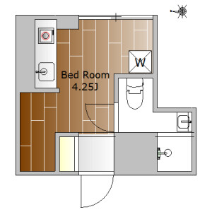 1R Mansion in Okusawa - Setagaya-ku Floorplan