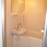 1K Apartment to Rent in Musashimurayama-shi Bathroom