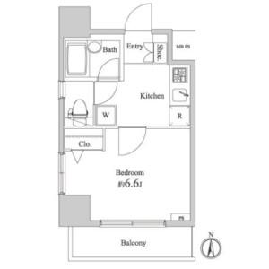 1K Mansion in Taishido - Setagaya-ku Floorplan