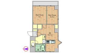 2DK Apartment in Minamiazabu - Minato-ku