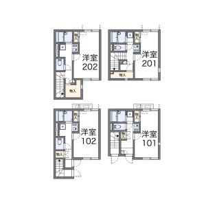 1K Apartment in Kitasuna - Koto-ku Floorplan