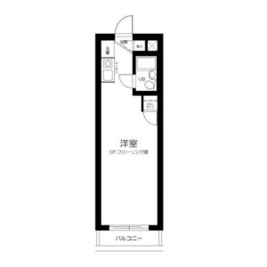 1R Mansion in Sumida - Sumida-ku Floorplan