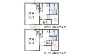 八王子市片倉町-1K公寓