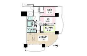 3LDK Apartment in Minatomirai - Yokohama-shi Nishi-ku