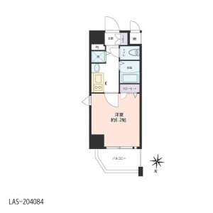 名古屋市東区 - 泉 公寓 1K 房間格局