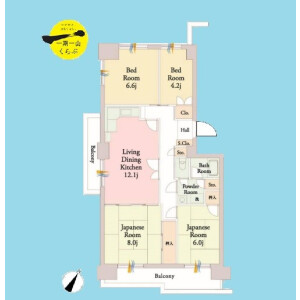 4LDK {building type} in Seishincho - Edogawa-ku Floorplan